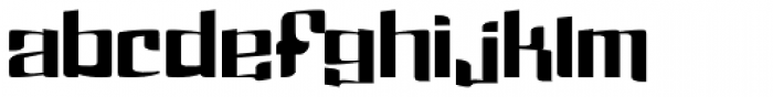 Dolsab Heavy Font LOWERCASE