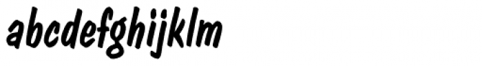 Dom Casual D Italic Font LOWERCASE