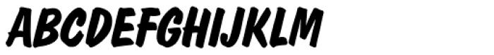 Dom Casual SB Bold Italic Font UPPERCASE