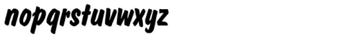 Dom Casual SB Bold Italic Font LOWERCASE