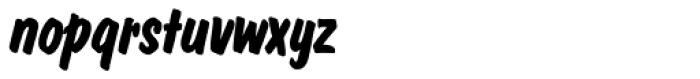 Dom Casual SH Bold Italic Font LOWERCASE