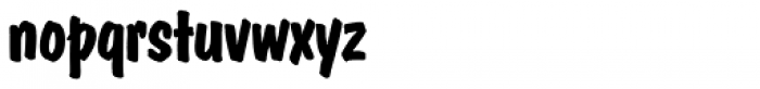 Dom Casual SH Bold Font LOWERCASE