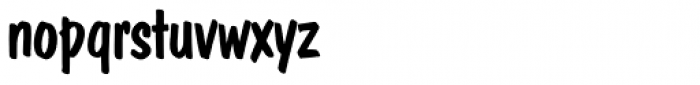 Dom Casual SH Regular Font LOWERCASE
