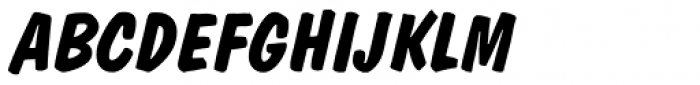Dom Diagonal Bold BT Font UPPERCASE