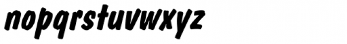 Dom Diagonal Bold Font LOWERCASE