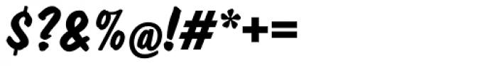 Dom EF Diagonal Bold Font OTHER CHARS