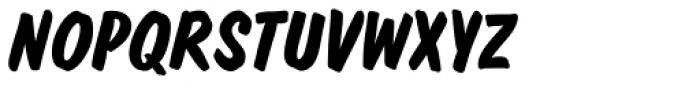 Dom EF Diagonal Bold Font UPPERCASE