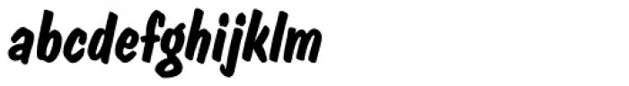 Dom EF Diagonal Bold Font LOWERCASE
