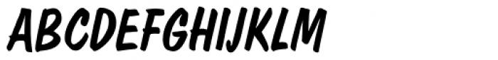 Dom EF Diagonal Regular Font UPPERCASE