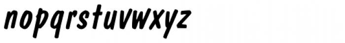 Dom Pro Diagonal Font LOWERCASE