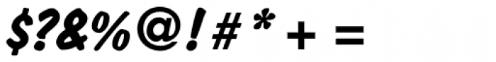 Dom Std Diagonal Bold Font OTHER CHARS