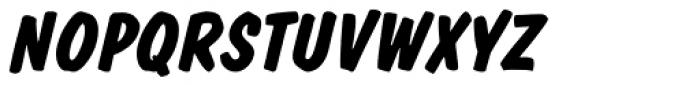 Dom Std Diagonal Bold Font UPPERCASE