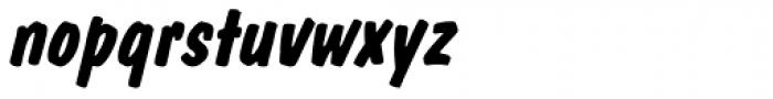 Dom Std Diagonal Bold Font LOWERCASE