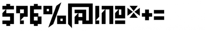 Dominion Font OTHER CHARS