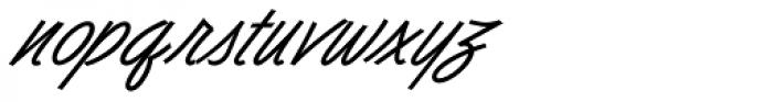Dominique Pro Medium Font LOWERCASE