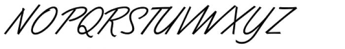 Dominique Pro Regular Font UPPERCASE
