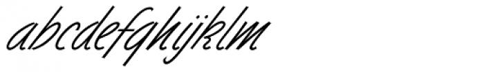 Dominique Pro Regular Font LOWERCASE