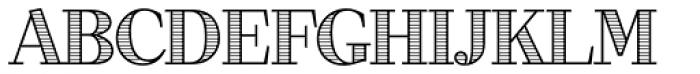 Dominus RR Modern Engraved Font UPPERCASE