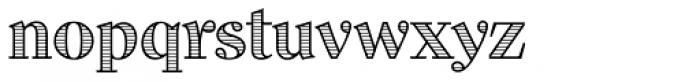 Dominus RR Modern Engraved Font LOWERCASE
