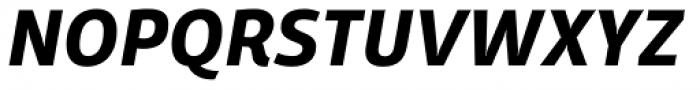Domotika Bold Italic Font UPPERCASE