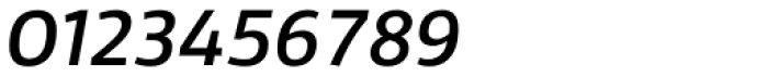 Domotika Italic Font OTHER CHARS