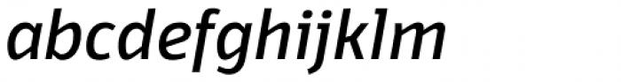 Domotika Italic Font LOWERCASE