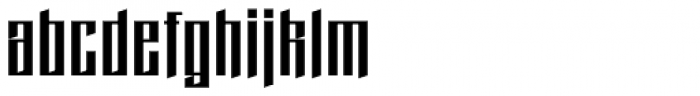 Domstadt Font LOWERCASE