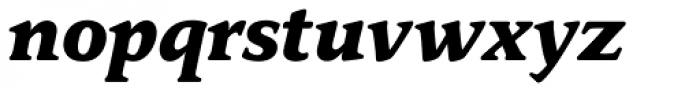 Donatus BQ Bold Italic Font LOWERCASE