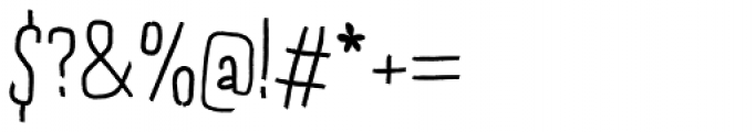 Dondolare Regular Font OTHER CHARS