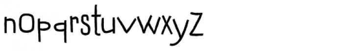 Dondolare Regular Font LOWERCASE
