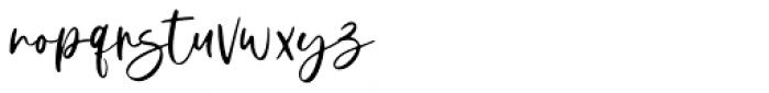 Donittan Story Regular Font LOWERCASE
