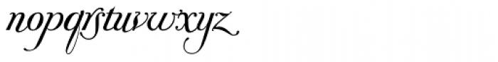 Donna Bodoni Aa Script Font LOWERCASE