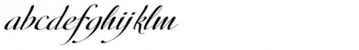 Donna Lena Slanted Font LOWERCASE