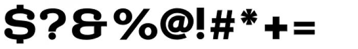 Donnerstag Black Font OTHER CHARS