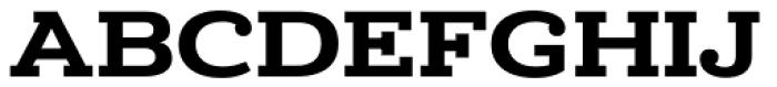 Donnerstag Black Font UPPERCASE