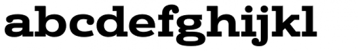 Donnerstag Black Font LOWERCASE