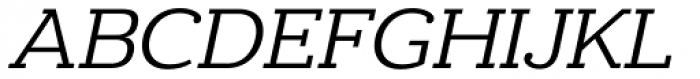 Donnerstag Italic Font UPPERCASE