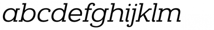 Donnerstag Italic Font LOWERCASE