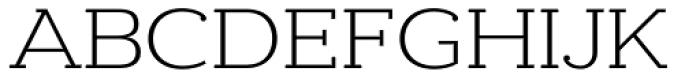 Donnerstag Light Font UPPERCASE