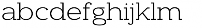 Donnerstag Light Font LOWERCASE