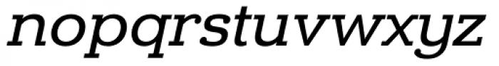 Donnerstag Medium Italic Font LOWERCASE