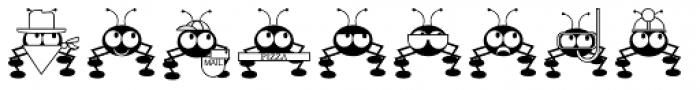 Dont Bug Me JNL Font UPPERCASE