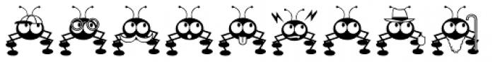 Dont Bug Me JNL Font LOWERCASE