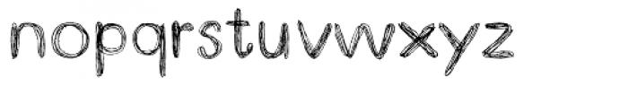 Doodle Pen Font LOWERCASE