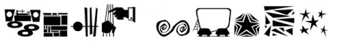 Doowop Initials JNL Font OTHER CHARS