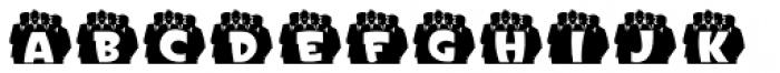 Doowop Initials JNL Font UPPERCASE