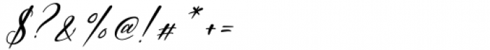 Dopetta Italic Font OTHER CHARS