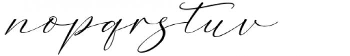 Dopetta Italic Font LOWERCASE