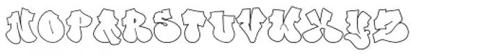 Dopey Font UPPERCASE