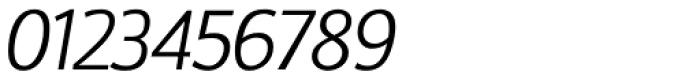 Doradani Light Italic Font OTHER CHARS